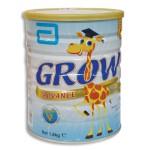 Sữa bột GROW Advance 3-6T vani ht 1.8Kg